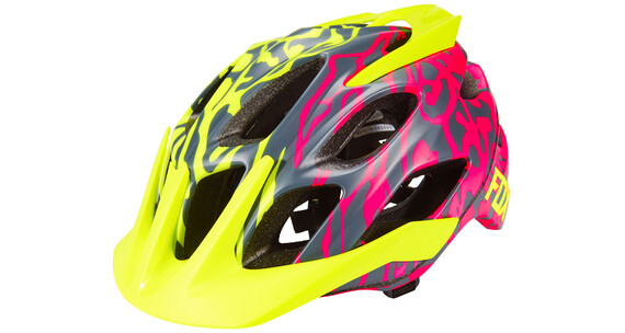 Fox Flux helm Heren geel